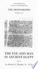 The Eye and Man in Ancient Egypt