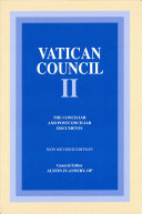 Vatican Council II: The conciliar and post conciliar documents