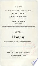 A Guide to the Official Publications of the Other American Republics ...