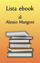Lista ebook di Alessio Mangoni