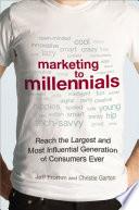 Marketing to Millennials Book Cover