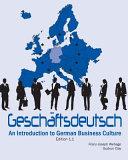 Geschäftsdeutsch: An Introduction to German Business Culture