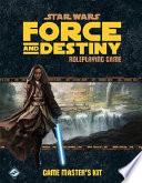 Star Wars Force and Destiny Rpg - Game Master Kit