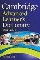 Cambridge Advanced Learner s Dictionary