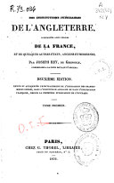 Des institutions judiciaires de l'anglaterre, compareés avec celles de la France, et de quelques autres états, anciens et modernes