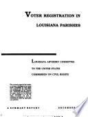 Voter Registration in Louisiana Parishes