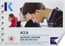 P6 Advanced Taxation (FA17) - Pocket Notes