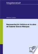 Representación histórica en la obra de Gabriel García Márquez