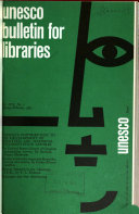 Unesco Bulletin For Libraries
