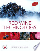 Red Wine Technology Book
