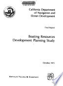 Boating Resources Development Planning Study