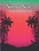 Summer Scenes Coloring Book Book PDF