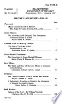 Military Law Review