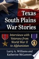 Texas South Plains War Stories