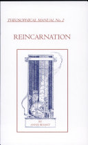 Reincarnation, Theosophical Manual