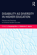 Disability as Diversity in Higher Education