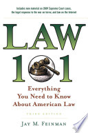 Law 101:Everything You Need to Know About American Law