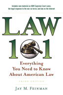 Law 101 Everything You Need to Know About American Law Book PDF