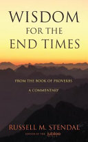 Wisdom for the End Times Book