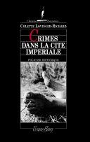 Crimes dans la cité impériale ebook