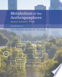 Metabolism of the Anthroposphere Book