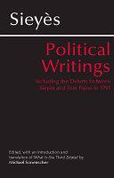 Sieyes: Political Writings