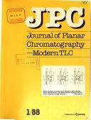 Journal Of Planar Chromatography Modern Tlc Book PDF