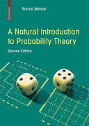 A Natural Introduction to Probability Theory Book