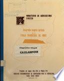 Desarrollo Integral Agrícola de la Franja Transversal del Norte. Diagnóstico integral Caxlanpom