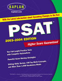 Kaplan Psat 2003 2004