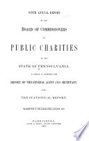 Annual Report Of The Board Of Commissioners Of Public Charities Book PDF