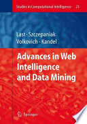 Advances in Web Intelligence and Data Mining