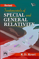 FUNDAMENTALS OF SPECIAL AND GENERAL RELATIVITY  Revised Edition