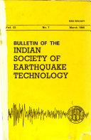 Bulletin of the Indian Society of Earthquake Technology