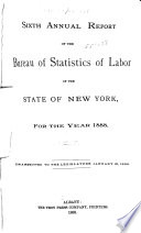 Annual Report of the Bureau of Labor Statistics of the State of New York for the Year