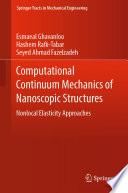 Computational Continuum Mechanics of Nanoscopic Structures Book
