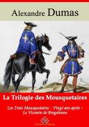 Pdf Trilogie des mousquetaires : les trois mousquetaires, Vingt ans après, le vicomte de Bragelonne Telecharger