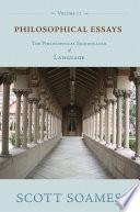 Philosophical Essays  Volume 2