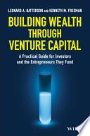 Building Wealth through Venture Capital