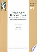 Wheat Policy Reform in Egypt