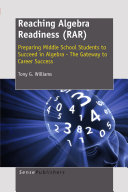Reaching Algebra Readiness (RAR)