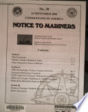 Notice to Mariners Book