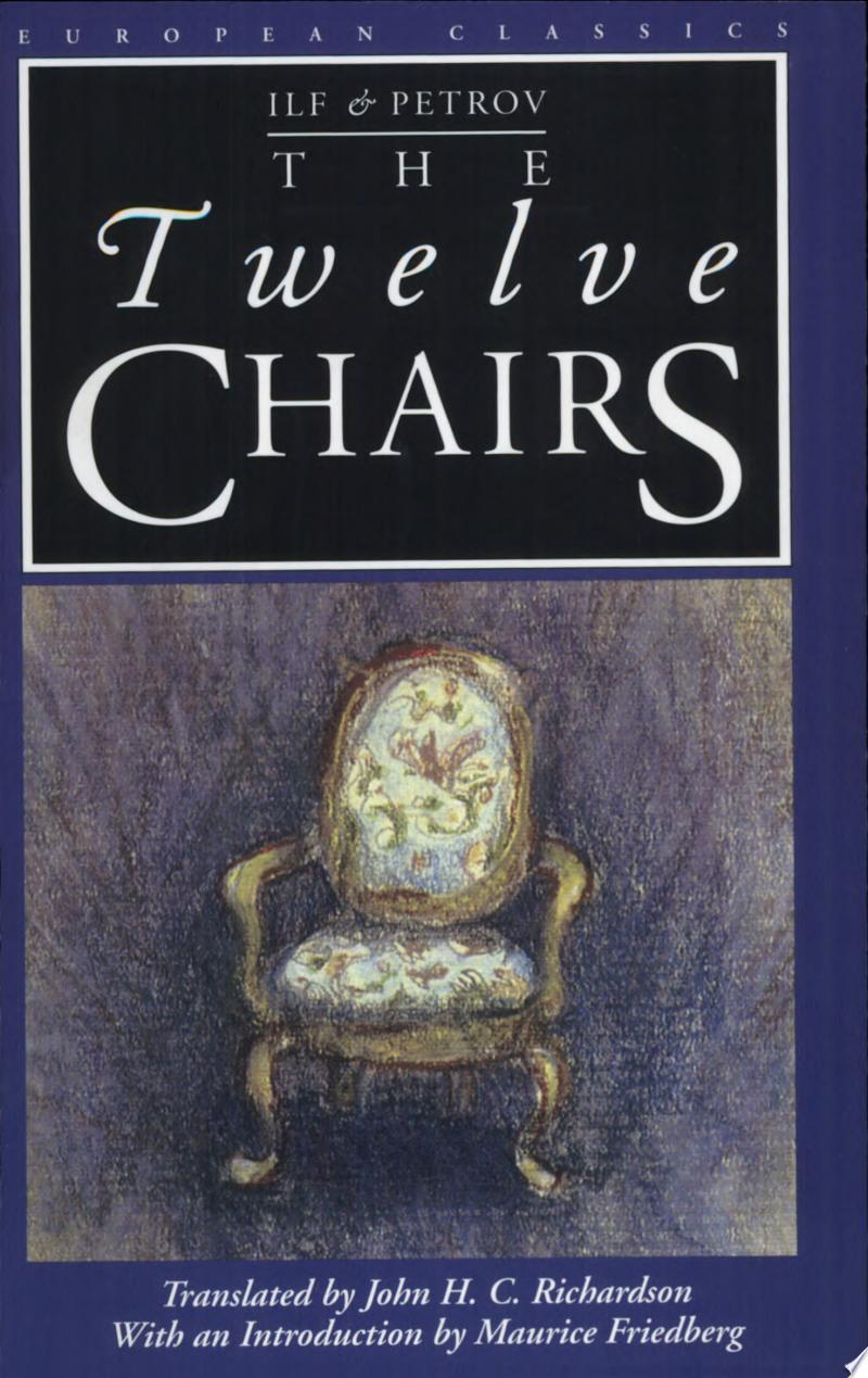 The Twelve Chairs banner backdrop