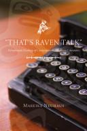 That s Raven Talk