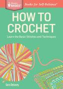 How to Crochet Pdf/ePub eBook