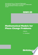 Mathematical Models for Phase Change Problems