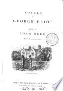 Adam Bede  by George Eliot  Stereotyped ed