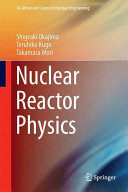 Nuclear Reactor Physics Book