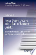 Higgs Boson Decays Into A Pair Of Bottom Quarks