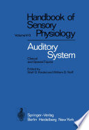 Auditory System Book